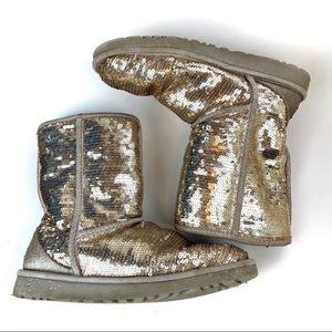 Ugg Australia Women's Boots Size 8 Sparkle Slip-on